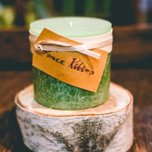 3x3 Aloe Timber Candle