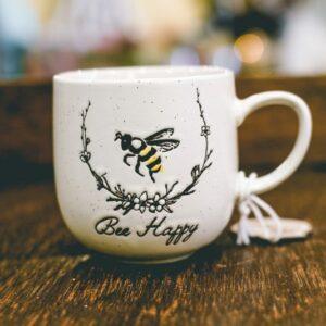 Bee coffee cup