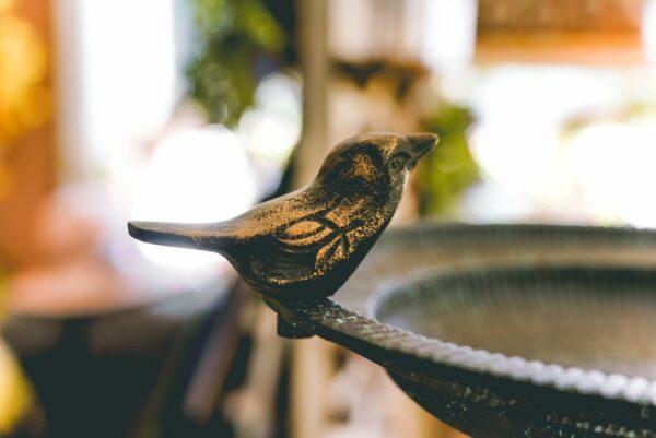 Bird Bath- BIrds on Side-001