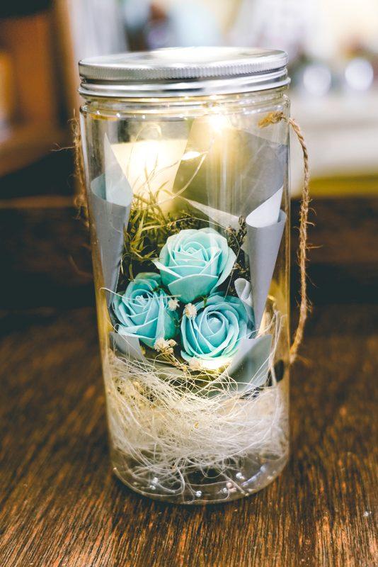 Blue rose lantern -02