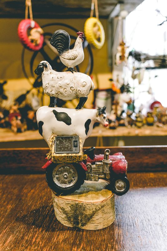 Farm animal tractor decoration01