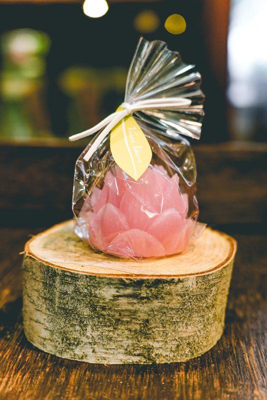 lotus bloom candles(pink)